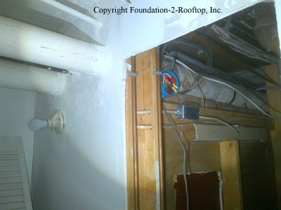 Asbestos wrap on boiler piping in the basement of this flipped home partially removed.  Was it properly abated???
