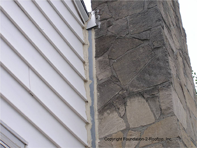 Leaning chimney needs to be entirely torn down and rebuilt by a Certified Chimney Sweep